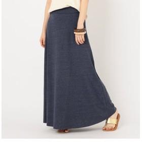 【SHIPS:スカート】CAL. Berries:ボードウォークマキシスカート