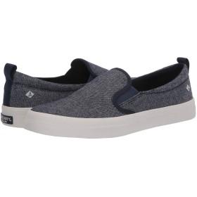 [スペリー] レディース スニーカー Crest Twin Gore Sparkle Linen Sneaker [並行輸入品]