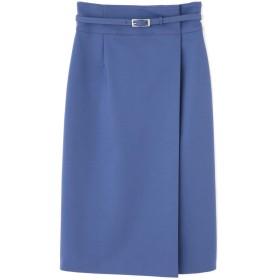 ジル スチュアート JILLSTUART ポーレットタイトスカート BLUE 2【税込10,800円以上購入で送料無料】