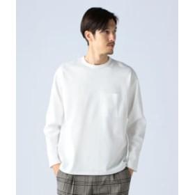 BEAMS LIGHTS 【予約】BEAMS LIGHTS / ポンチ ヘム アジャストメント Tシャツ メンズ Tシャツ WHITE M