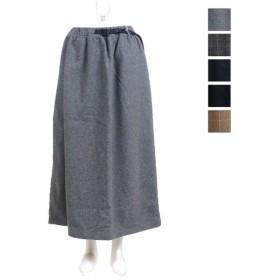 Gramicci(グラミチ) レディース ウールブレンドロングフレアスカート WOOL BLEND LONG FLARE SKIRT GLSK-19F014 2019秋冬/新作