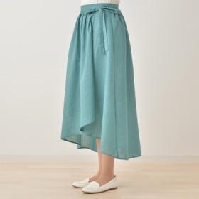 Elfindame リボン付きラップスカート