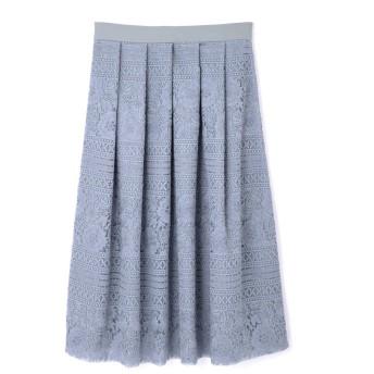 ジル スチュアート JILLSTUART 《Endy ROBE》シルヴィア刺繍スカート BLUE 0【税込10,800円以上購入で送料無料】