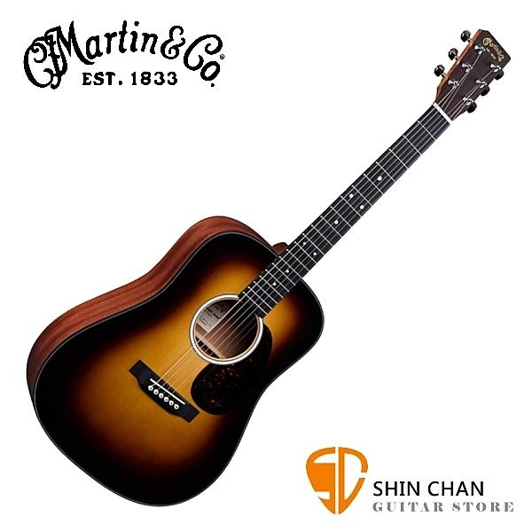 Martin DJR10 BURST 38吋全單板小吉他 夕陽漸層色 Dreadnought Junior 全單板 附原廠吉他袋
