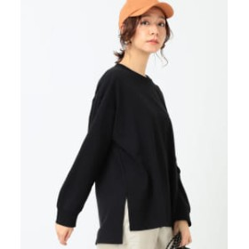 B:MING by BEAMS 【予約】B:MING by BEAMS / USA綿 ビッグロンT 20SS レディース Tシャツ BLACK ONE SIZE