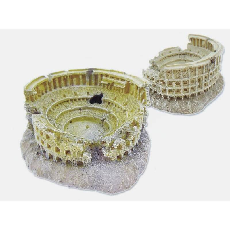 PE139L羅馬競技場 造景裝飾 魚缸擺設 水族飾品