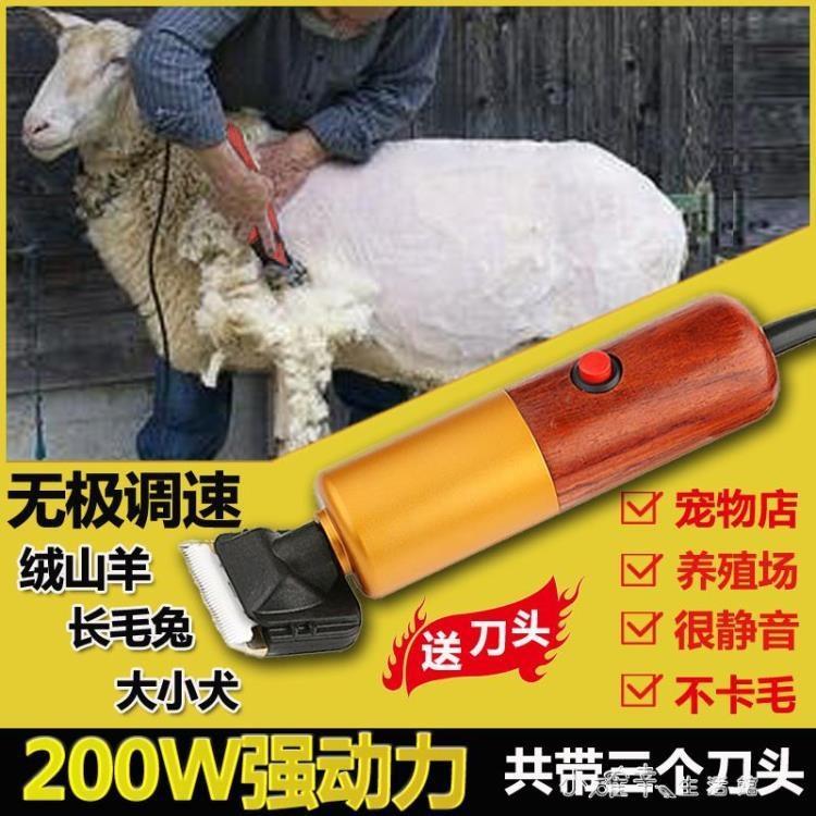 專業寵物電推剪大功率剃羊毛山羊電動剪刀犬狗狗毛兔毛推子剪毛器