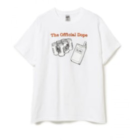 BEAMS DEAR SKATING / Blind and VIDEO DAYS Collection Dope Tシャツ メンズ Tシャツ WHITE L
