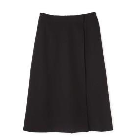 アドーア ADORE リバーシブルウールスカート ブラック×ネイビー 36【税込10,800円以上購入で送料無料】