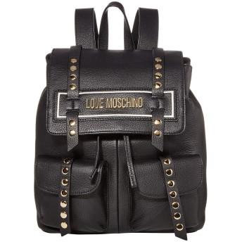 [ラブ モスキーノ] レディース バックパック・リュックサック Studded Logo Backpack [並行輸入品]