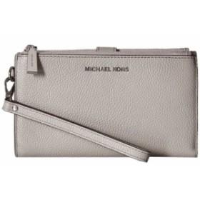 マイケル コース MICHAEL Michael Kors レディース ポーチ リストレット Double Zip Wristlet Pearl Grey