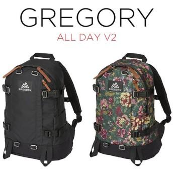 GREGORY グレゴリー オールデイ V2 バッグ リュック リュックサック バックパック ブラック 黒 グリーン 緑 花柄 ナイロン