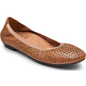 [バイオニック] シューズ パンプス Robyn Perforated Leather Ballet Flats Toffee レディース [並行輸入品]