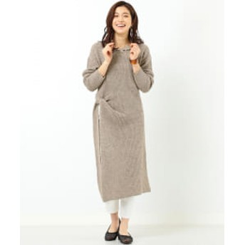 B:MING by BEAMS B:MING by BEAMS / ネップサーマル ニットワンピース レディース ワンピース BEIGE系 ONE SIZE