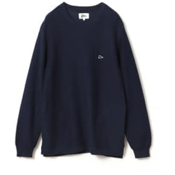 Pilgrim Surf+Supply 【予約】Pilgrim Surf+Supply / Onshore Crew Neck Sweater メンズ ニット・セーター NAVY L