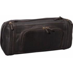 デレクアレクサンダー Derek Alexander メンズ ポーチ Large Zippered Travel Kit Brown