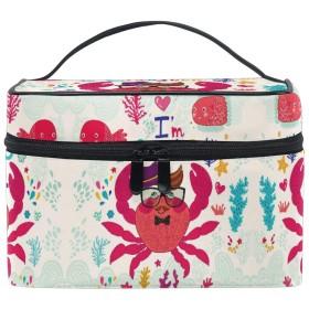 グラフィティカニアート化粧品袋オーガナイザージッパー化粧バッグポーチトイレタリーケースガールレディース