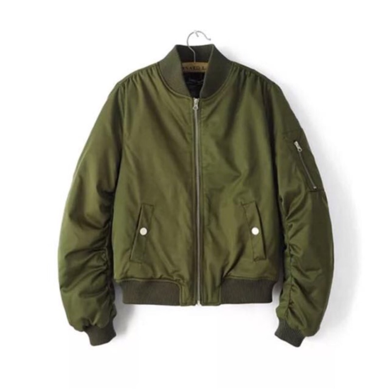 Monei Shop鋪棉軍綠外套出清