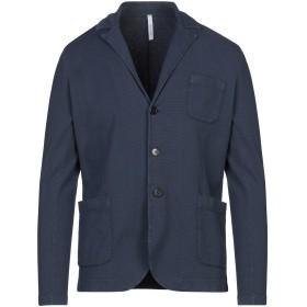 《セール開催中》BELLWOOD メンズ テーラードジャケット ダークブルー 46 コットン 100%
