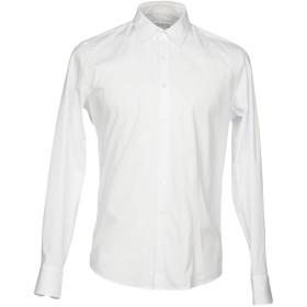 《セール開催中》HAMAKI-HO メンズ シャツ ホワイト XL コットン 97% / ポリウレタン 3%