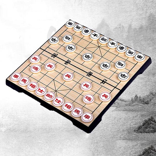 888便利購磁性中國象棋(益智)(折疊收納攜帶方便)