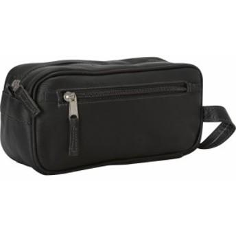 ラチコレザー Latico Leathers メンズ ポーチ Downtown Travel Kit Black