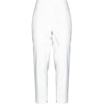 《セール開催中》CLIPS MORE レディース パンツ ホワイト 48 コットン 62% / ポリエステル 33% / ポリウレタン 5%