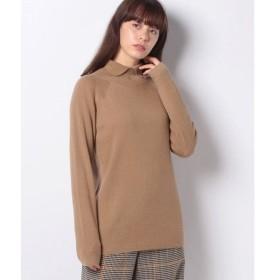 【マーコート】【mizuiro ind】shirt collar rib knitプルオーバー