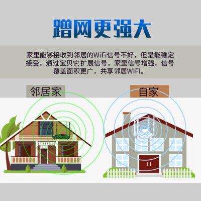 信號增強器 WiFi增強器無線信號放大萬能中繼接收大功率路由器家用高速穿牆王
