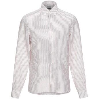 《セール開催中》BRUNELLO CUCINELLI メンズ シャツ レンガ M リネン 94% / コットン 6%