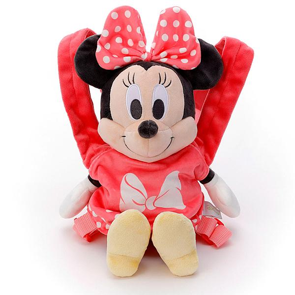 特價 T-ARTS Disney 小媽媽背帶絨毛 米妮_TA21773