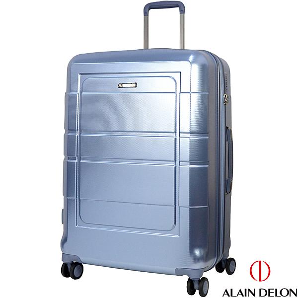 ALAIN DELON 亞蘭德倫 28吋奢華流線系列行李箱(冰藍)