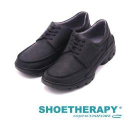 SAPATOTERAPIA 巴西真皮雙拼接時尚休閒鞋 男鞋-黑