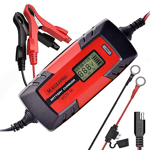 MAGLONG【美國代購】自動電瓶充電器6V / 12V 1-4Amp智能自動充電