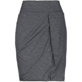 《セール開催中》BRUNELLO CUCINELLI レディース ひざ丈スカート 鉛色 44 バージンウール 96% / ポリウレタン 4%