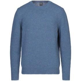 《セール開催中》ELEVENTY メンズ プルオーバー ブルーグレー XL 71% ウール 18% 毛(アルパカ) 7% ナイロン 4% 指定外繊維