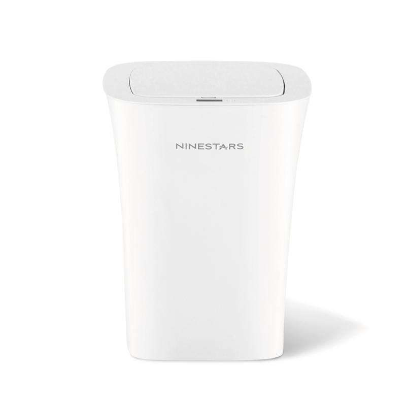 感應式防潑水垃圾桶DZT-10-11S / 二入