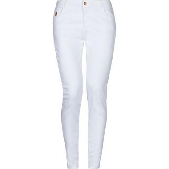 《セール開催中》!MERFECT レディース パンツ ホワイト 25 コットン 98% / ポリウレタン 2%