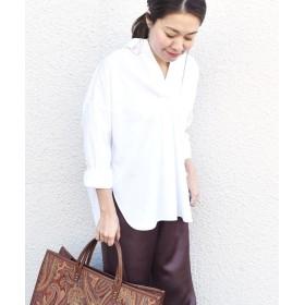 シップス 《予約》スキッパーシャツ◆ レディース ホワイト ONESIZE 【SHIPS】