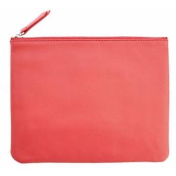 ルイスレザー Royce Leather レディース ポーチ Travel Organizer Pouch Red