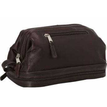 ラチコレザー Latico Leathers メンズ ポーチ Uptown Travel Kit Cafe