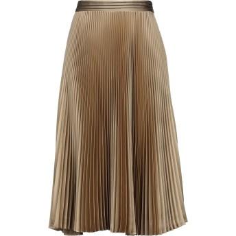 《セール開催中》BRUNELLO CUCINELLI レディース 7分丈スカート カーキ 44 ポリエステル 100% / 真鍮/ブラス