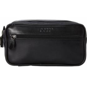 ドップ Dopp メンズ ポーチ Milan Soft Sided Multi-Zip Travel Kit Black