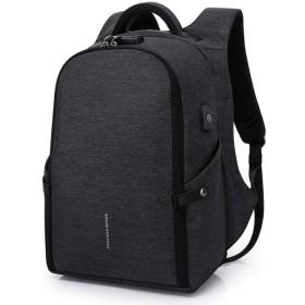 Men's Anti-theft Backpack 15.6laptop Backpack Teen Backpack School Bag Men Women Waterproof Large Capacity Backpack, black