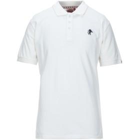 《セール開催中》LEONE メンズ ポロシャツ ホワイト XL コットン 100%