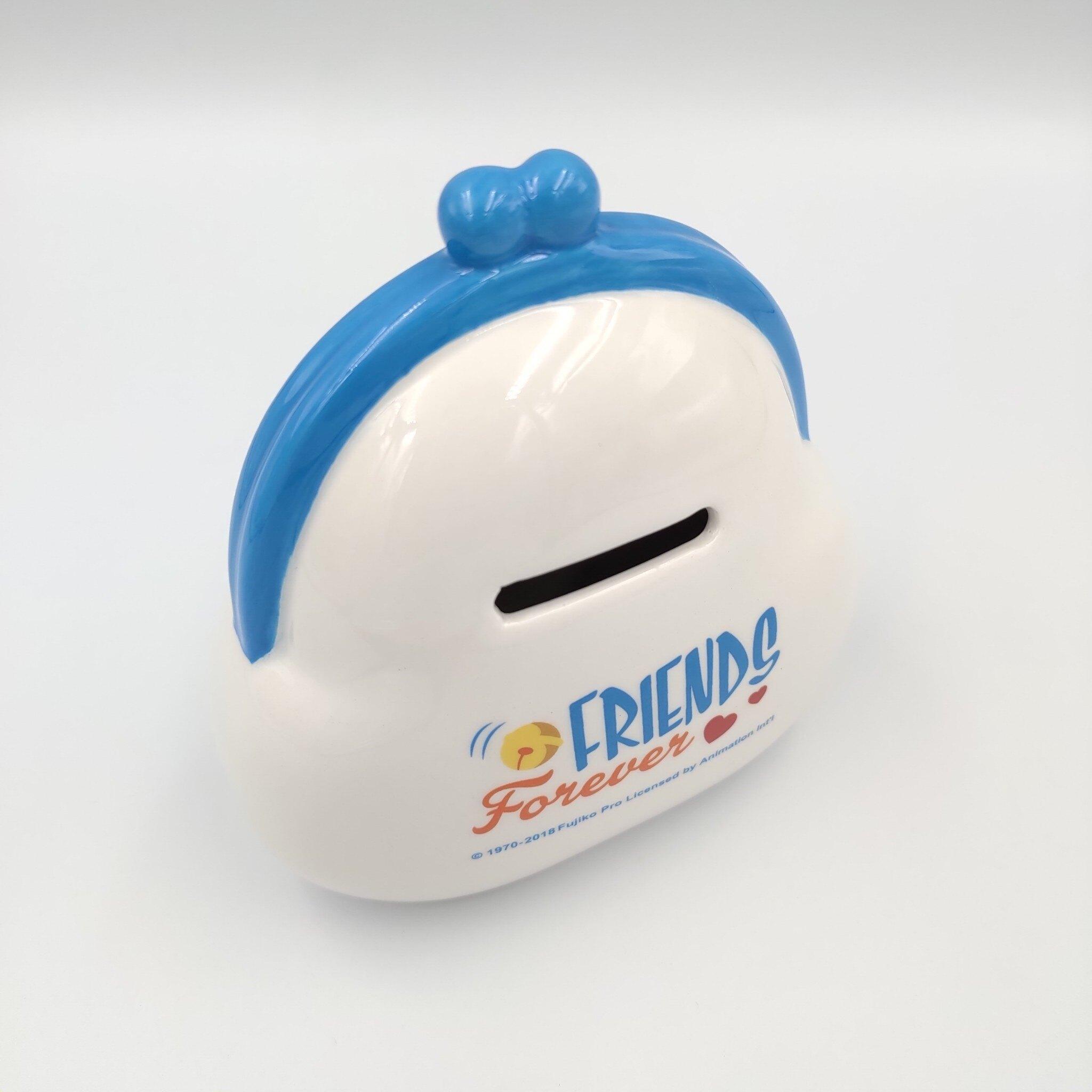 【積文館】存錢筒 撲滿 日本進口 哆啦A夢 Doraemon(10*10.5cm)