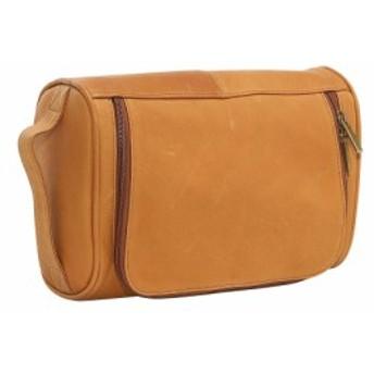 ルドンレザー Le Donne Leather メンズ ポーチ トイレタリーバッグ Toiletry Bag Tan