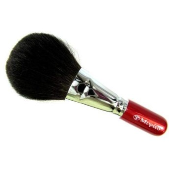 灰リス100 フェイスブラシ/フィニッシュブラシ/熊野筆 化粧筆 メイクブラシ 宮尾産業