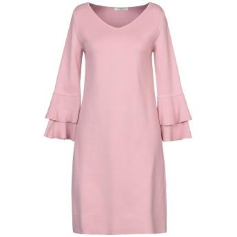 《セール開催中》CHARLOTT レディース ミニワンピース&ドレス ピンク S コットン 100%