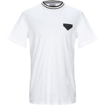 《セール開催中》RVER Paris メンズ T シャツ ホワイト M コットン 100%